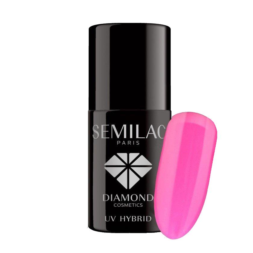 008 uv hybrid semilac intensive pink 7ml