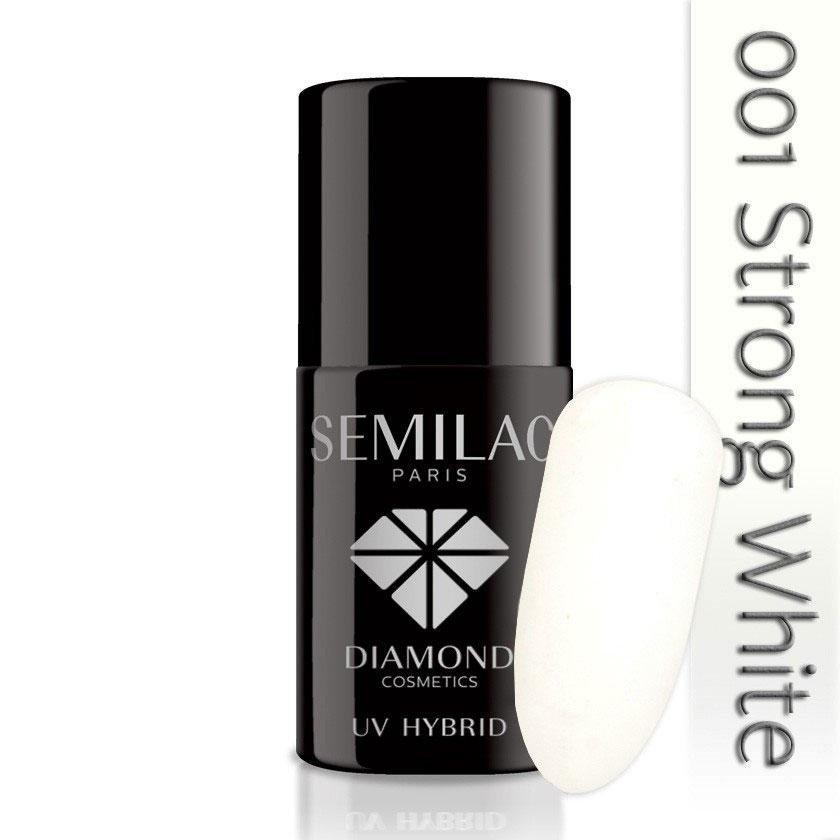 001 uv hybrid semilac strong white 7ml