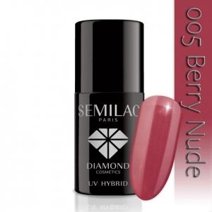 005 uv hybrid semilac berry nude 7ml