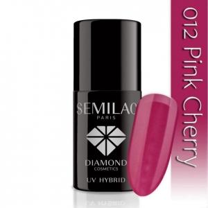 012 uv hybrid semilac pink cherry 7ml