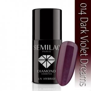 014 uv hybrid semilac dark violet dreams 7ml