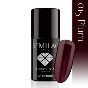 015 uv hybrid semilac plum 7ml