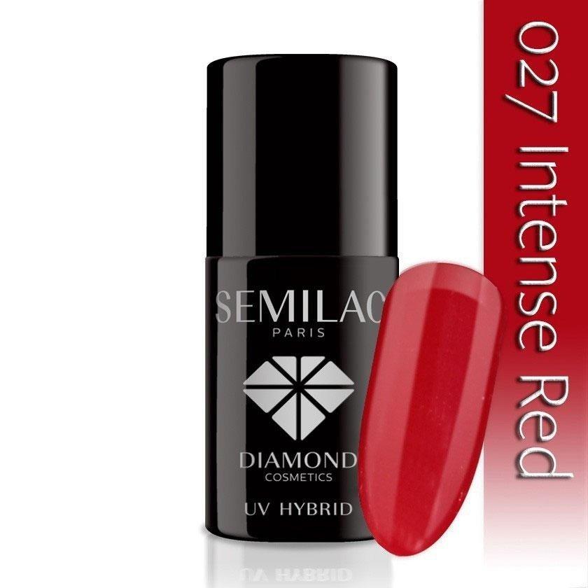 027 uv hybrid semilac intense red 7ml
