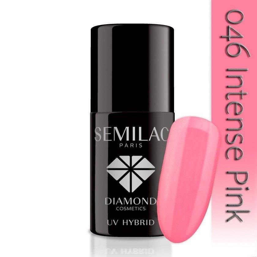 046 uv hybrid semilac intense pink 7ml