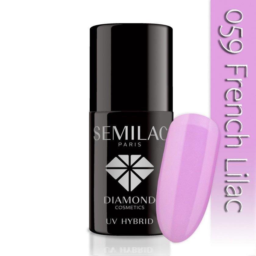 059 uv hybrid semilac french lilac 7ml