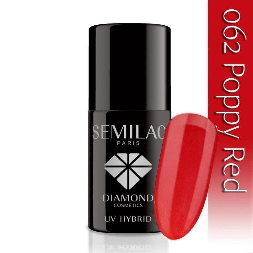 062 uv hybrid semilac poppy red 7ml