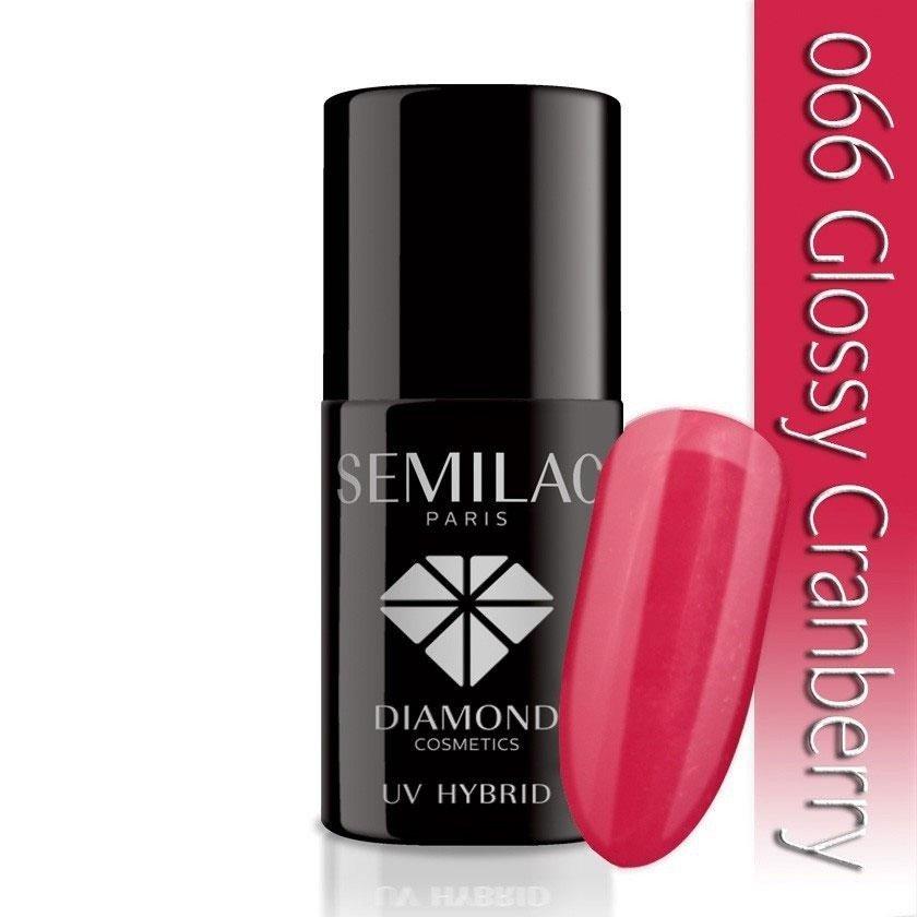 066 uv hybrid semilac glossy cranberry 7ml