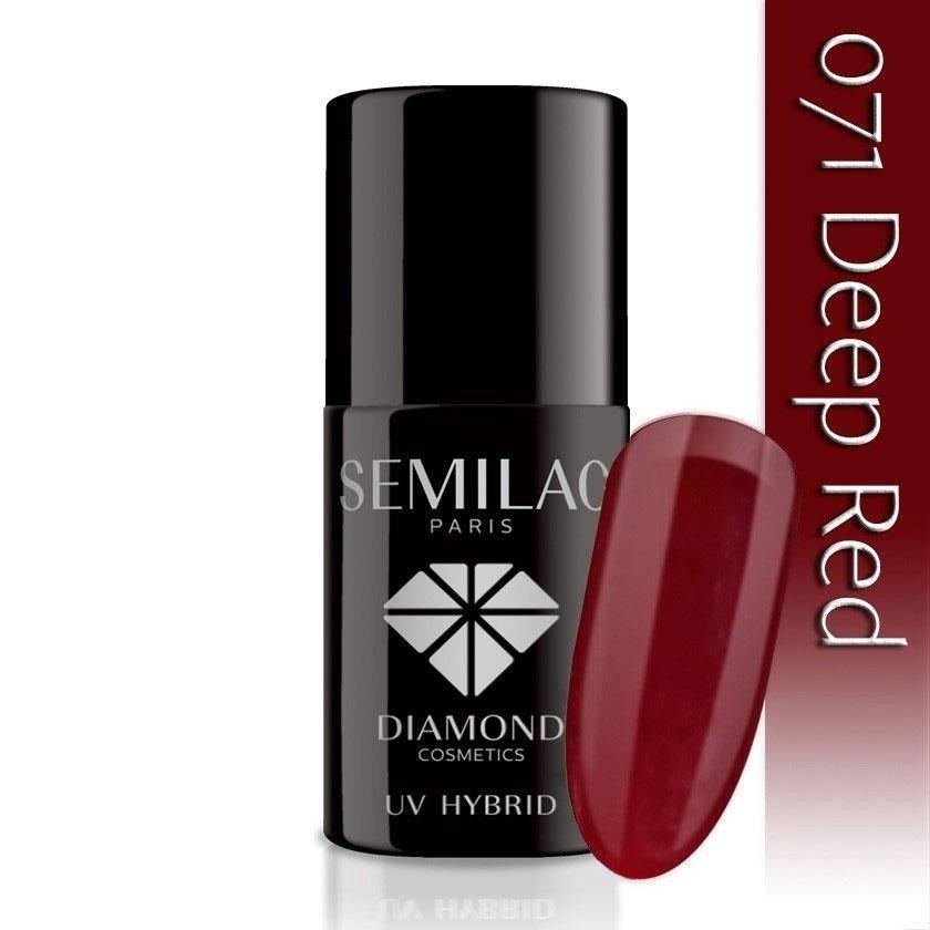 071 uv hybrid semilac deep red 7ml