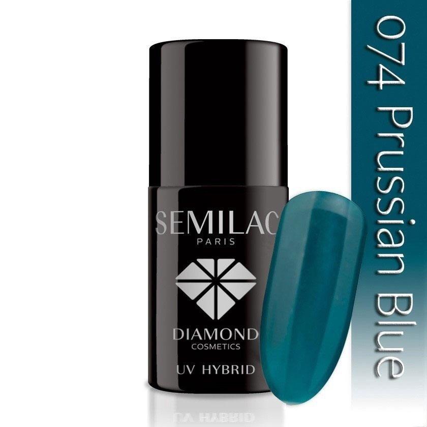 074 uv hybrid semilac prussian blue 7ml