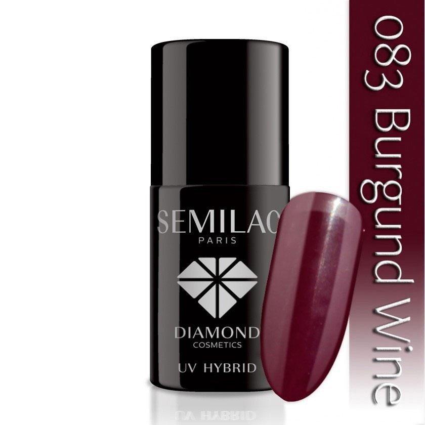 083 uv hybrid semilac burgund wine 7ml