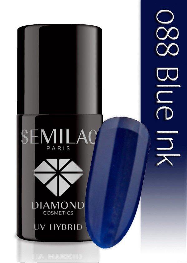 088 uv hybrid semilac blue ink 7ml