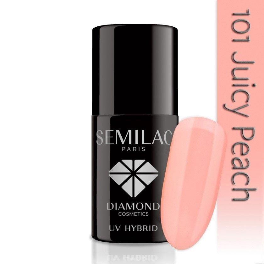 101 uv hybrid semilac juicy peach 7ml