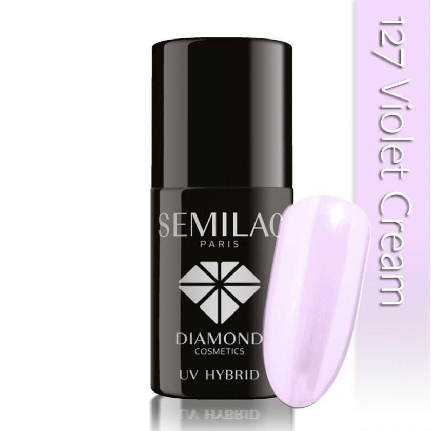 127 uv hybrid semilac violet cream 7ml
