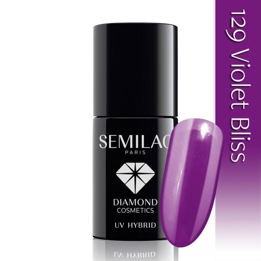 129 uv hybrid semilac violet bliss 7ml