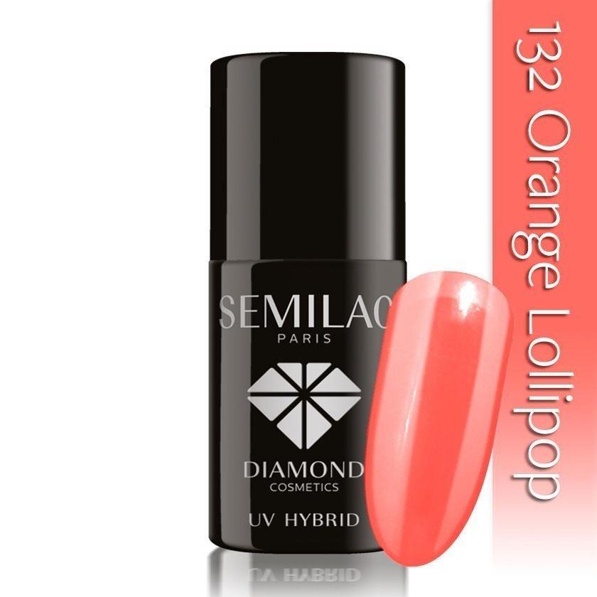 132 uv hybrid semilac orange lollipop 7ml