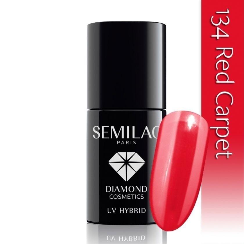 134 uv hybrid semilac red carpet 7ml