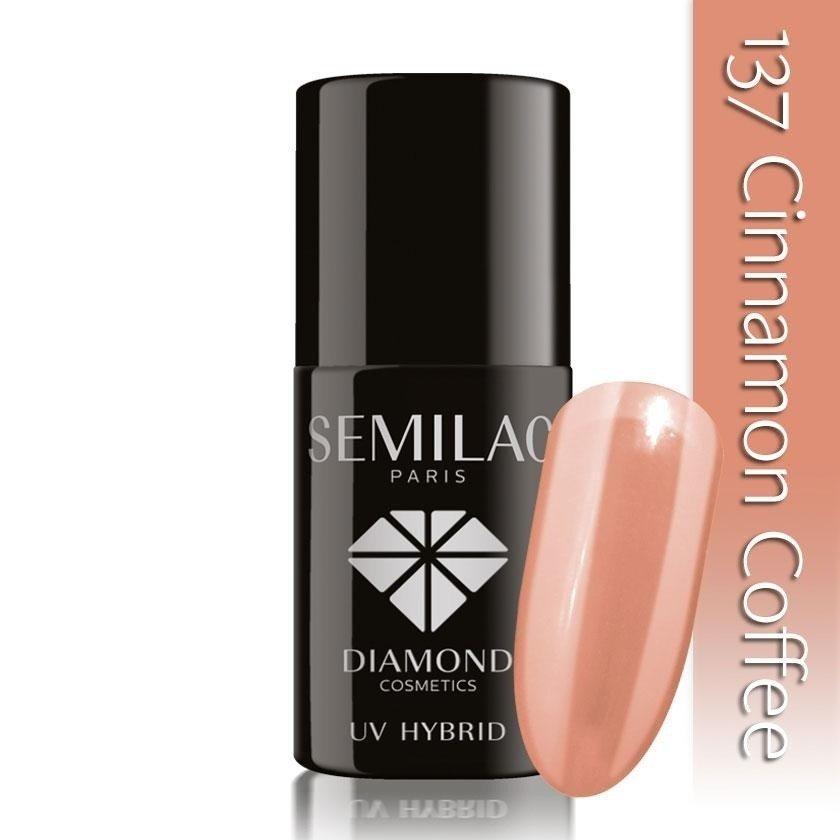 137 uv hybrid semilac cinnamon coffee 7ml