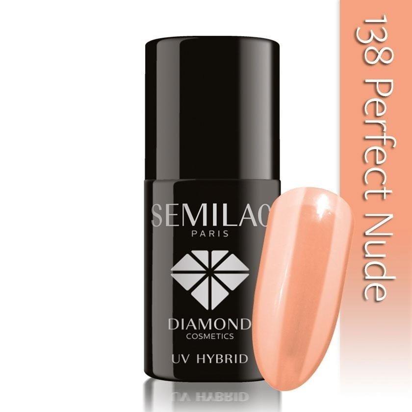 138 uv hybrid semilac perfect nude 7ml
