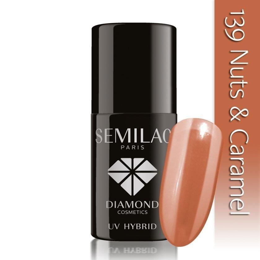 139 uv hybrid semilac nuts  caramel 7ml