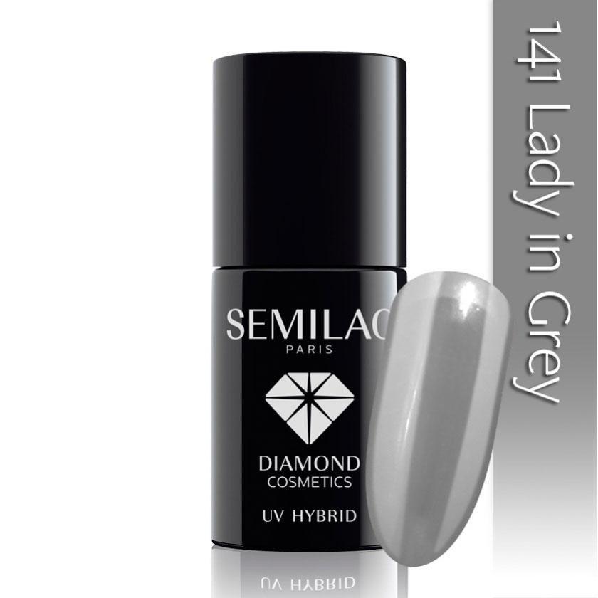 141 uv hybrid semilac lady in grey 7ml