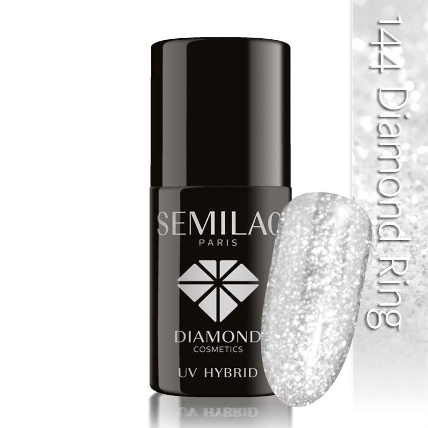 144 uv hybrid semilac diamond ring 7ml