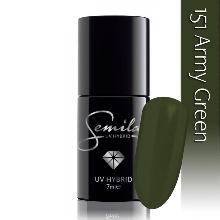 151 uv hybrid semilac army green 7ml