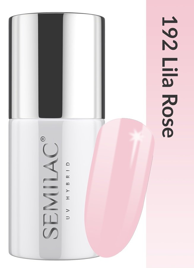 192 uv hybrid semilac business line lila rose 7ml