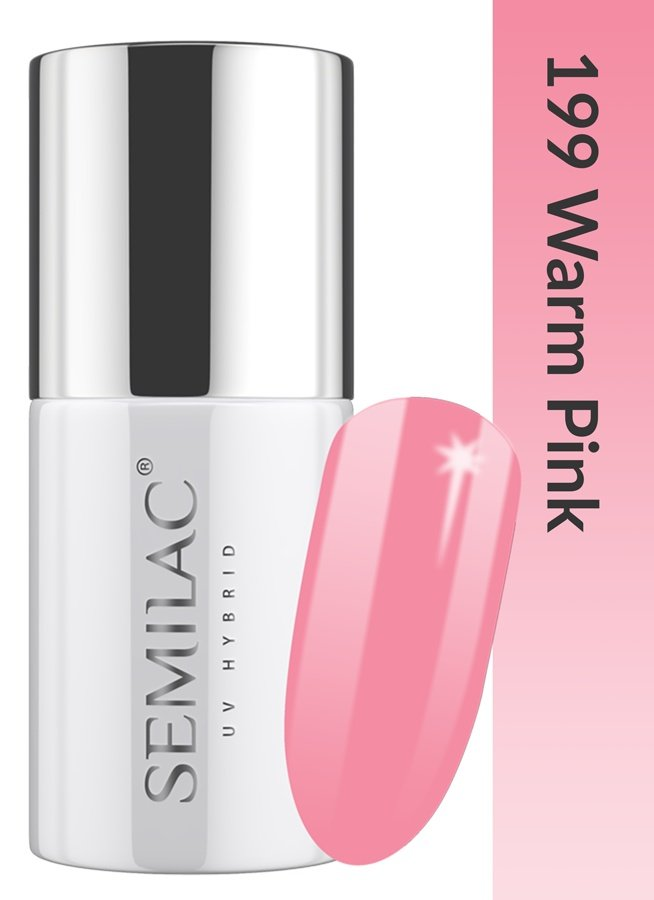 199 uv hybrid semilac business line warm pink 7ml