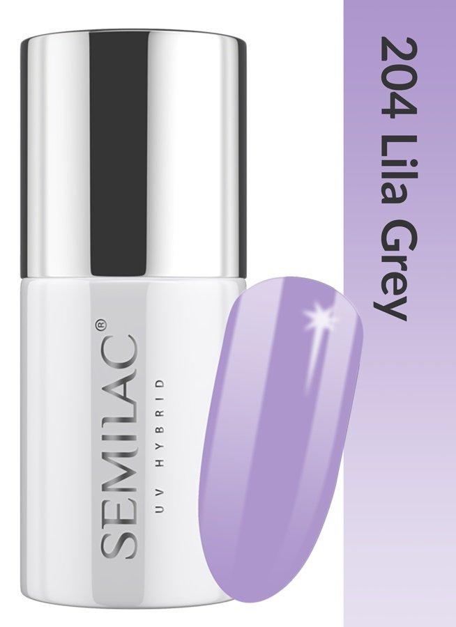 204 uv hybrid semilac business line lila grey 7ml