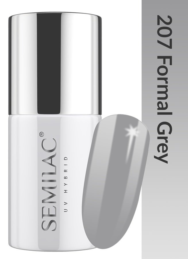 207 uv hybrid semilac business line formal grey 7ml