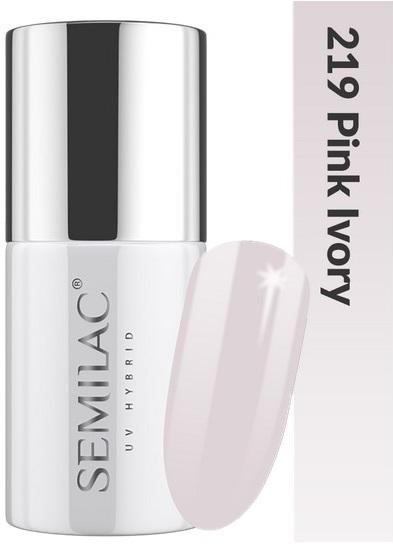 219 uv hybrid semilac business line pink ivory 7ml