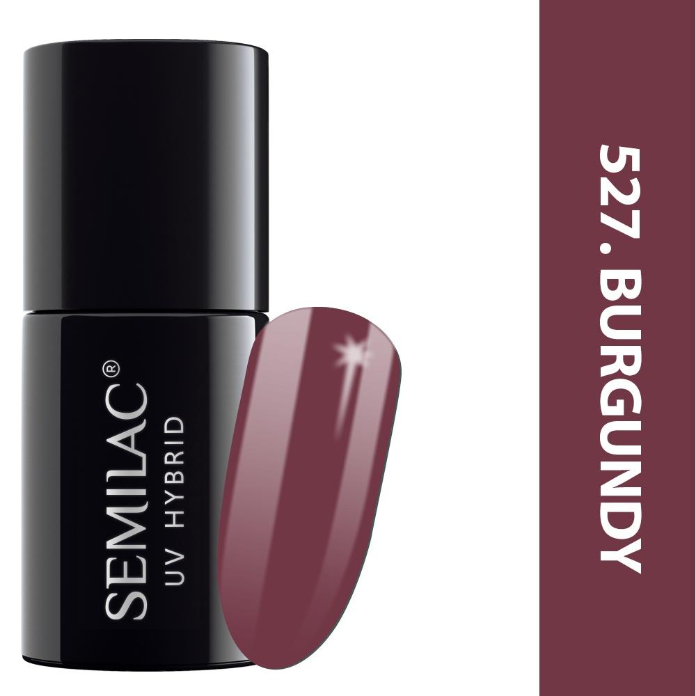 527 semilac legendary six margaret burgundy 7ml