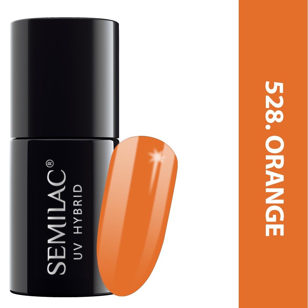 528 semilac legendary six margaret orange 7ml