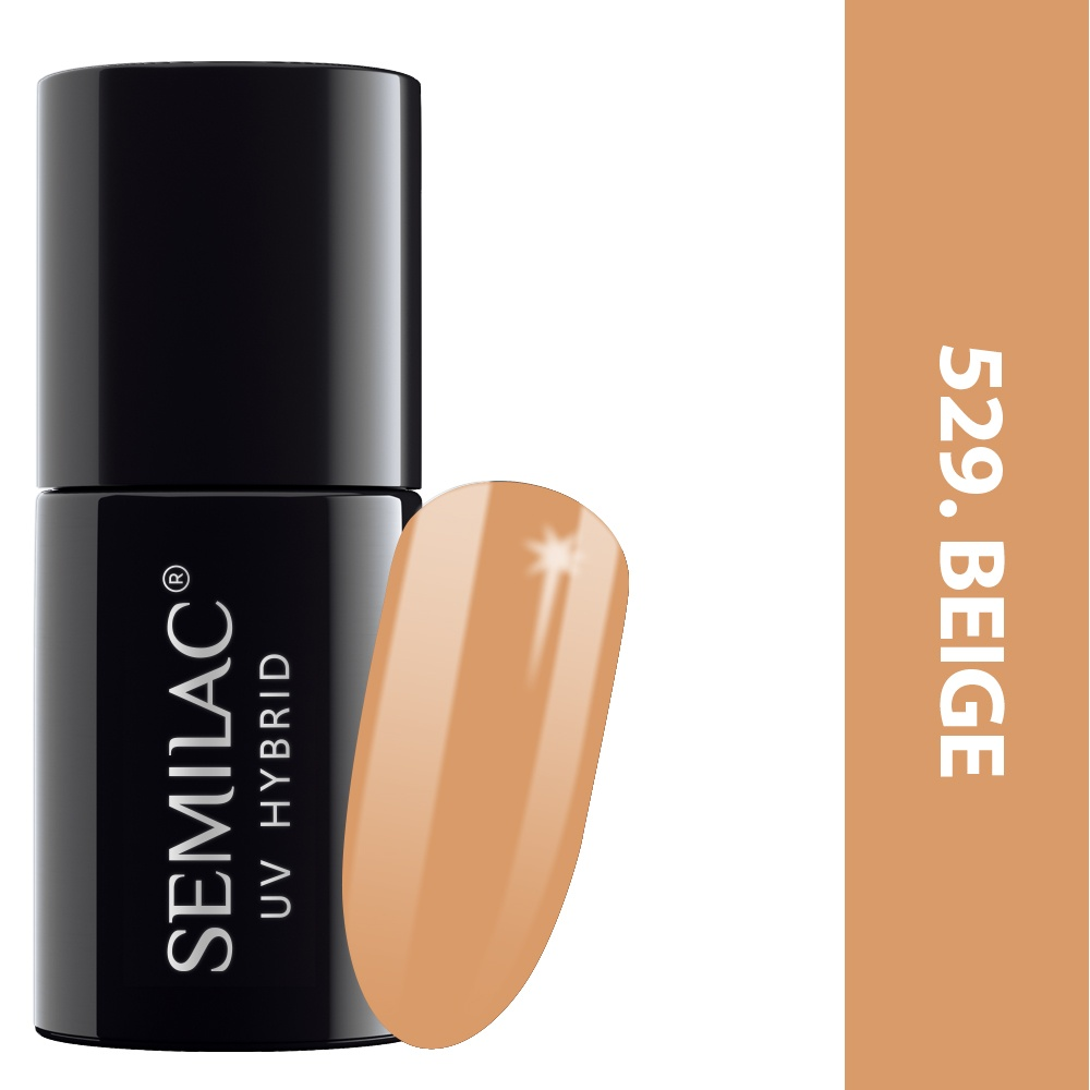 529 semilac legendary six margaret beige 7ml