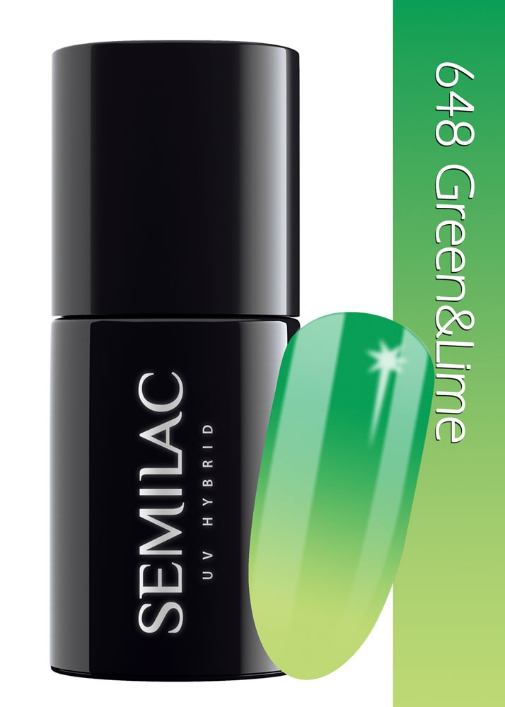 648 semilac thermal green  lime