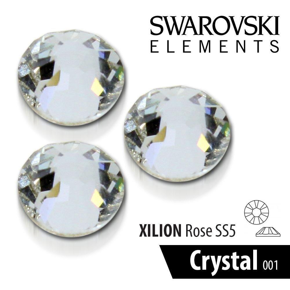 cyrkonie oryginalne swarovski 100szt ss5 crystal