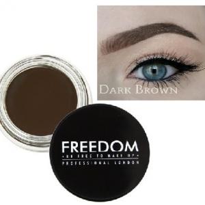 freedom pomada do brwi dark brown