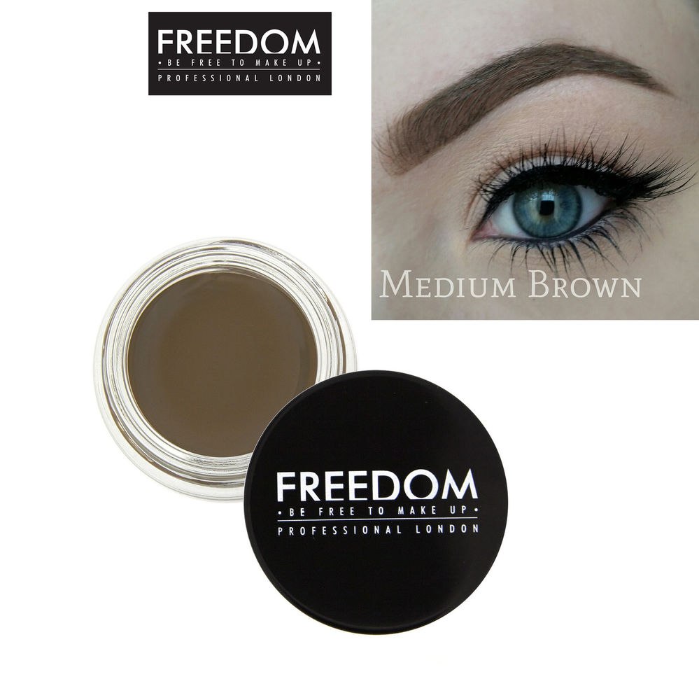 freedom pomada do brwi medium brown