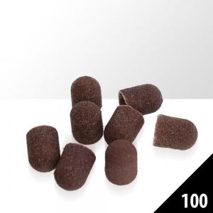 kapturki do pedicure 13mm 10szt gradacja 100