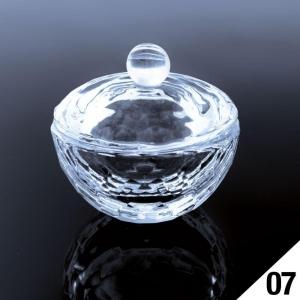 kieliszek naczynko na liquid z pokrywka