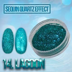 pylek sequin quartz effect lagoon.