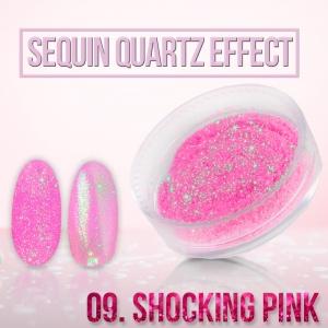 pylek sequin quartz effect shocking pink.