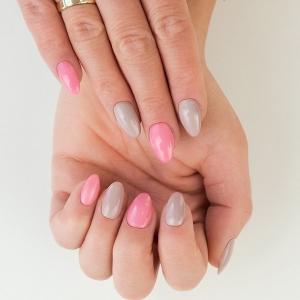 semilac flash sunlight effect pink 669..