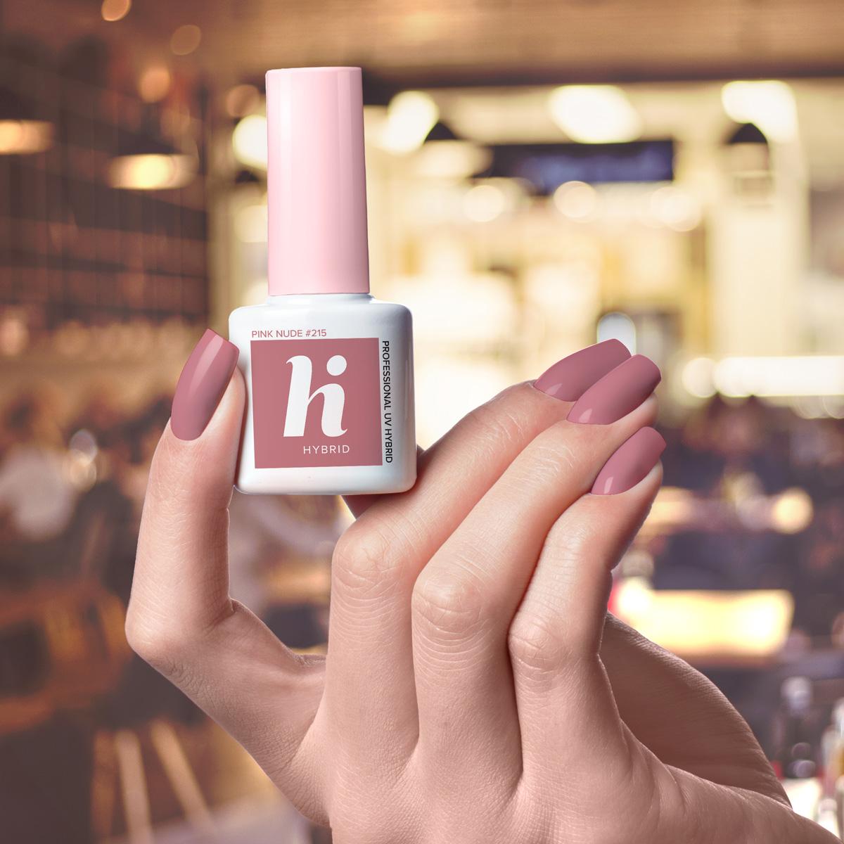 215 lakier hi hybrid pink nude 5ml