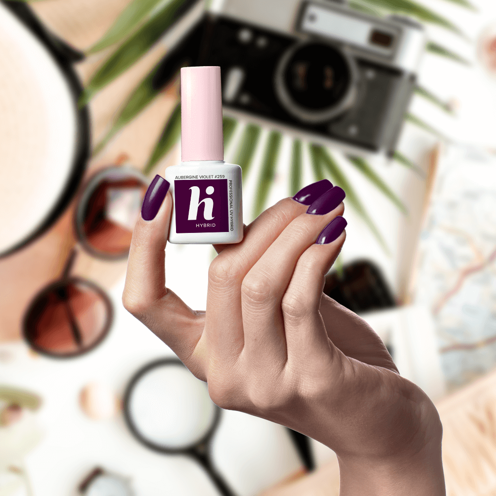 259 lakier hi hybrid aubergine violet 5ml