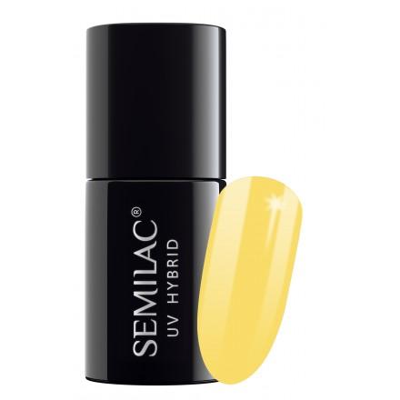 531 uv hybrid semilac celebrate joyfull yellow 7ml