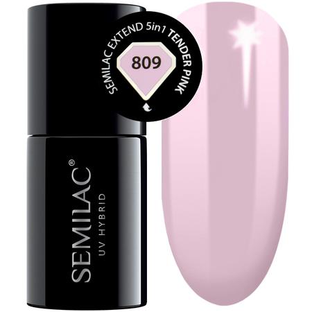 809 semilac extend 5in1 tender pink 7ml