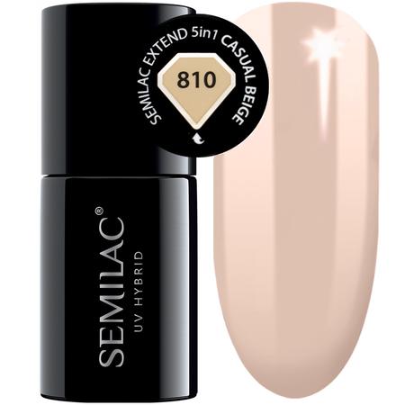 810 semilac extend 5in1 casual beige 7ml