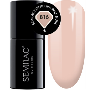 816 semilac extend 5in1 pale nude 7ml