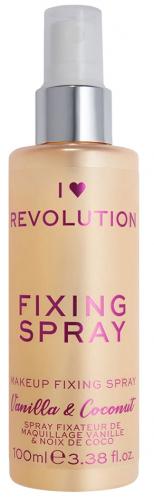 i love makeup fixing spray vanilla  coconut